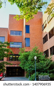 Eugene, OR/USA - Aug. 11, 2013: Oregon Hall Building, the University of Oregon at Eugene, OR.