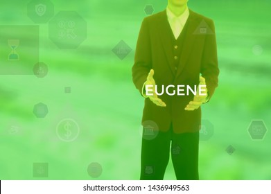 EUGENE - technology and business concept