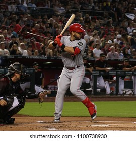 Eugenio Suarez 3rd basemen for the Cincinnati Reds at Chase Field in Phoenix,AZ USA May 28,2018.