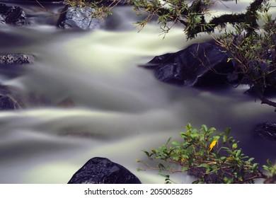 Eungella national park, long exposures of a small river, Broken River Queensland Australia