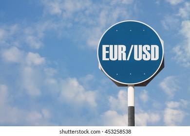 EUR USD Currency Pair