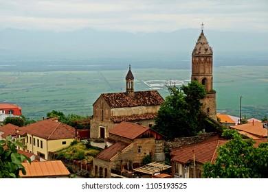 Eurasia Georgia Signagi medieval town