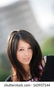 Eurasian girl