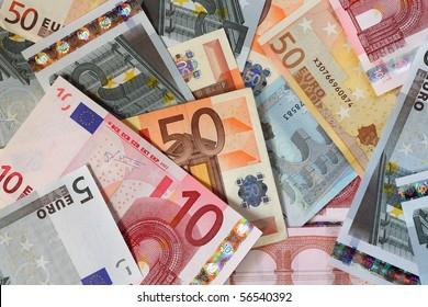 Euro bank-notes