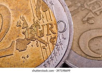 Euro coin, denomination two