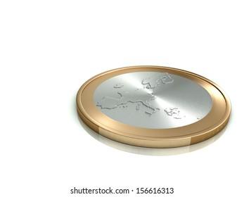 Pièces Euros Stock Illustrations, Images & Vectors   Shutterstock