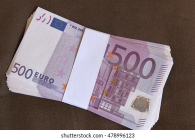 euro money banknotes, Money Euro background