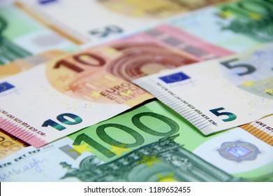 Euro money – Euro cash background