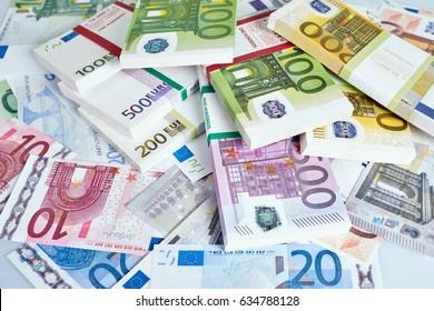 Euro Money. euro cash background.