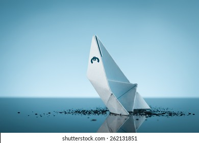 Euro money is like a sinking ship.