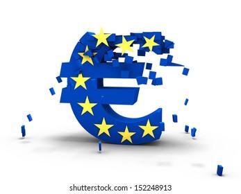 Euro pieces