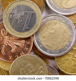 Euro and Pounds