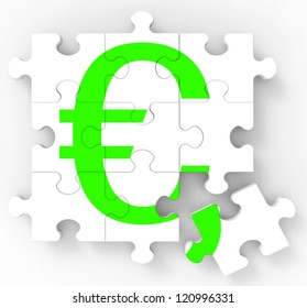 Euro Puzzle Shows European Profits And Interests