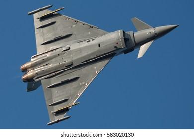 Eurofighter Typhoon on the Sky