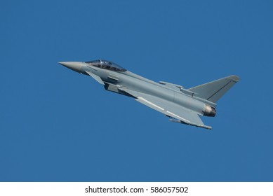 Eurofighter Typhoon on the Sky