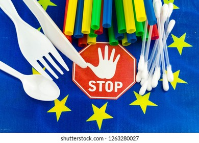 Europe bans straws and plastic tableware because of microplastics in the oceans