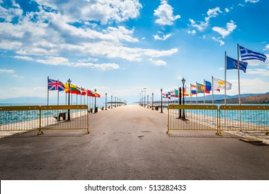Europe doors - concept images for immigration - Itea - Greece