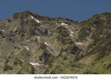 Europe, France, Hautes-Pyrénées , 06-2019, The Western Pyrenees National Park covers a significant area, including well-known attractions such as the Cirque de Garvarnie.