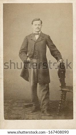 EUROPE FRANCE CIRCA 1860 Vintage Cartes Stock Photo Edit Now