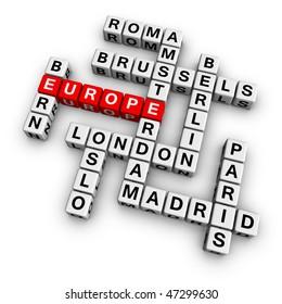 europe  (from crossword series)