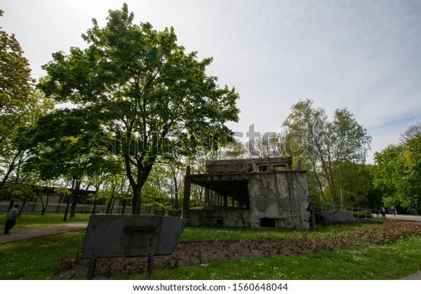 Europe Poland Westerplatte near Gdansk