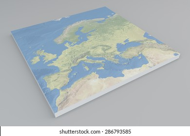 3d relief map denmark line sight stock illustration 4765312 europe satellite view split 3d map element of this image are publicscrutiny Gallery