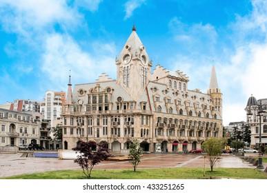 Europe Square in Batumi