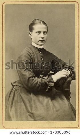 EUROPE SWEDEN CIRCA 1870 Vintage Cartes Stock Photo Edit Now