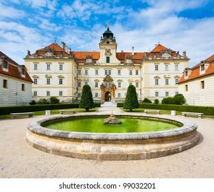 European baroque castle