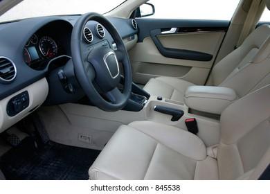 european car interior