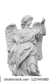European church winged angel sculpture,Ps path map