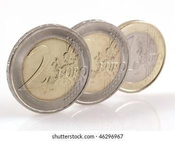 European coins.