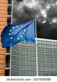 European Commission Headquarters building in Brussels, Belgium, Europe