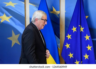 European Commission President Jean-Claude Juncker at the European Commission in Brussels, Belgium, 17 December 2018.