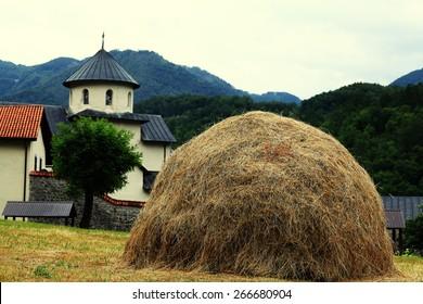 European countryside landscape