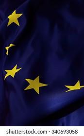 European flag textured background