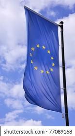 European flag vertically