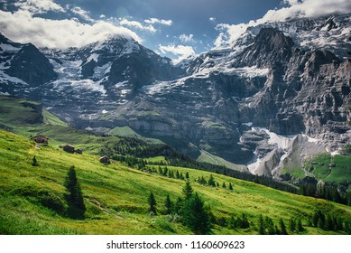 European landscape, Alps, Switzerland, Jungfrau