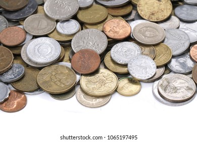 european old coins money as nice background