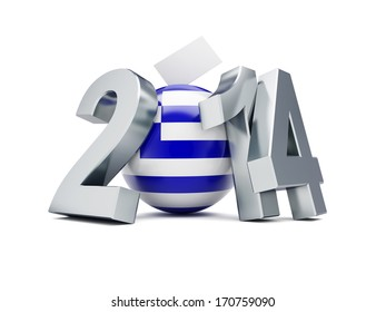 European Parliament elections in Greece 2014