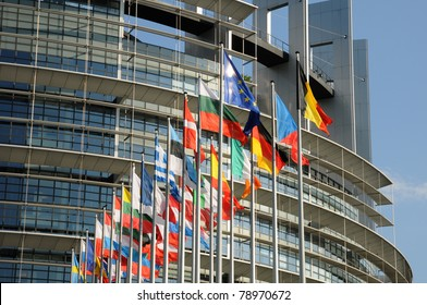 the European Parliament of Strasbourg