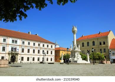 European square in OSijek, Croatia