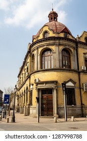 European style building in the city center of Tianjin, China