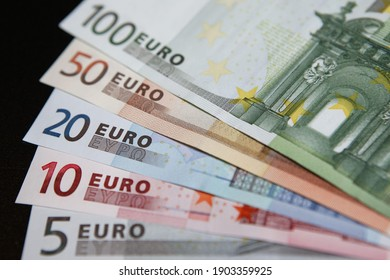 European Union Currency, Euro notes.