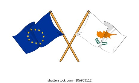 European Union and Cyprus alliance and friendship