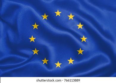 European Union Fabric Flag