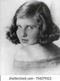 Eva Braun in the early 1930s. She and Hitler became lovers in 1932, when she was about 20 years old and he was 43.