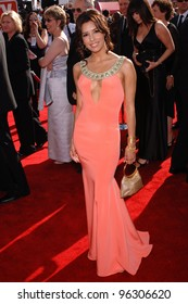 EVA LONGORIA at the 57th Annual Emmy Awards in Los Angeles. September 18, 2005; Los Angeles, CA:    Paul Smith / Featureflash