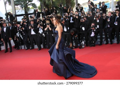 Eva Longoria  attends the 'Carol' Premiere during the 68th annual Cannes Film Festival on May 17, 2015 in Cannes, France.