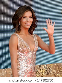 Eva Longoria Emmy Awards 2007 - Arrivals Shrine Auditorium Los Angeles,  CA September 16, 2007